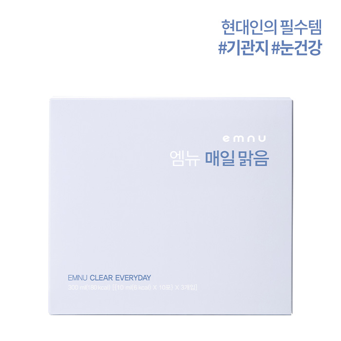 [10%OFF]EMNU CLEAR EVERYDAY엠뉴 매일 맑음